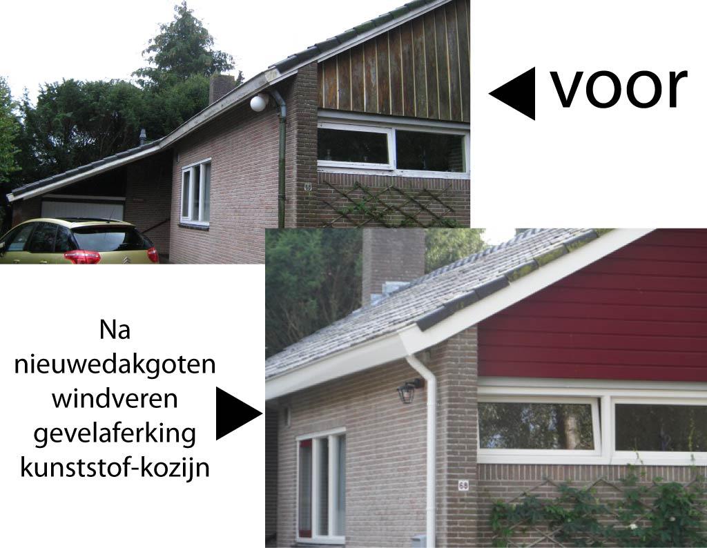 Gevel renovatie nj montage - Voor na gerenoveerd huis ...